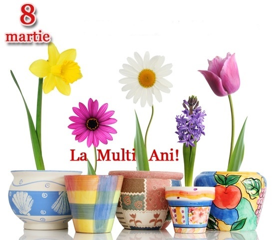 "8 martie ""Ziua Femeii"""