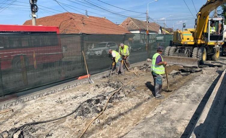 Lucrări de reabilitare a podurilor în Mediaș
